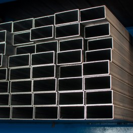 Rectangular precission steel tube