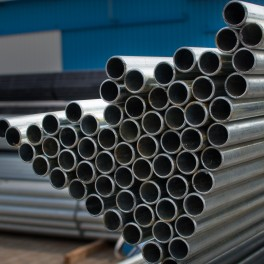 Galvanized steel pipe for instalation
