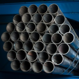 Steel pipe for construction
