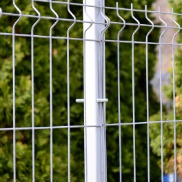 Zinc coated fence panel