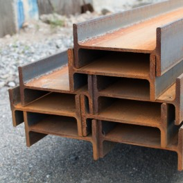 IPE steel profile